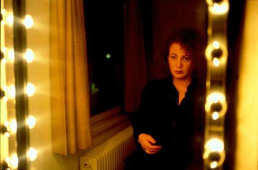 Nan Goldin, autorretrato en el hotel Baur au Lac, Zurich (1998)