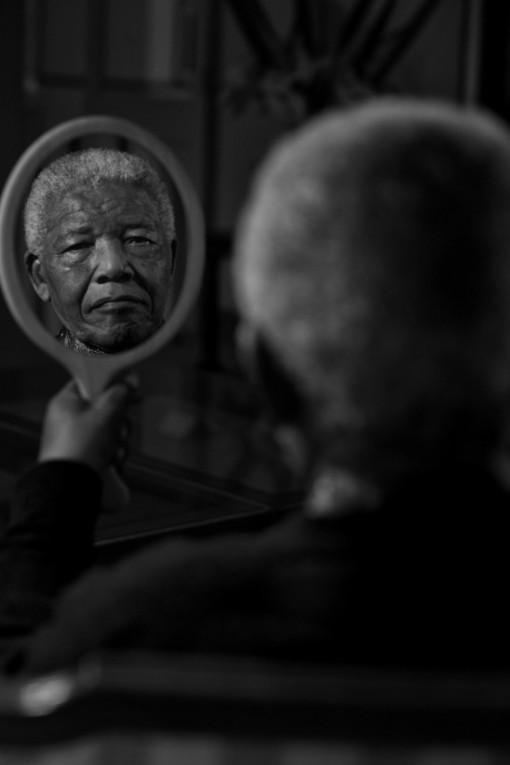 El último retrato de Nelson Mandela